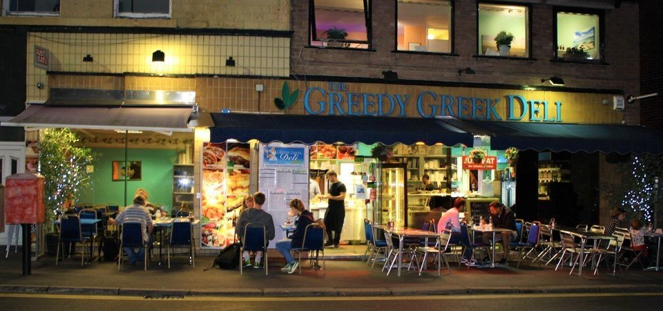 The Greedy Greek Deli