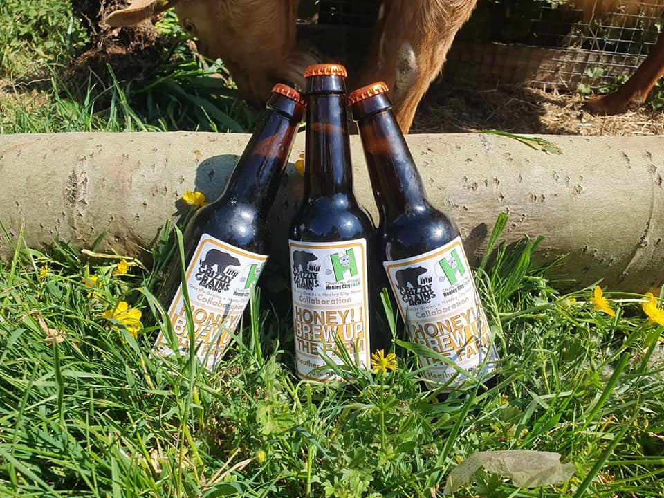 Grizzly Grains Heely City Farm Beer collab