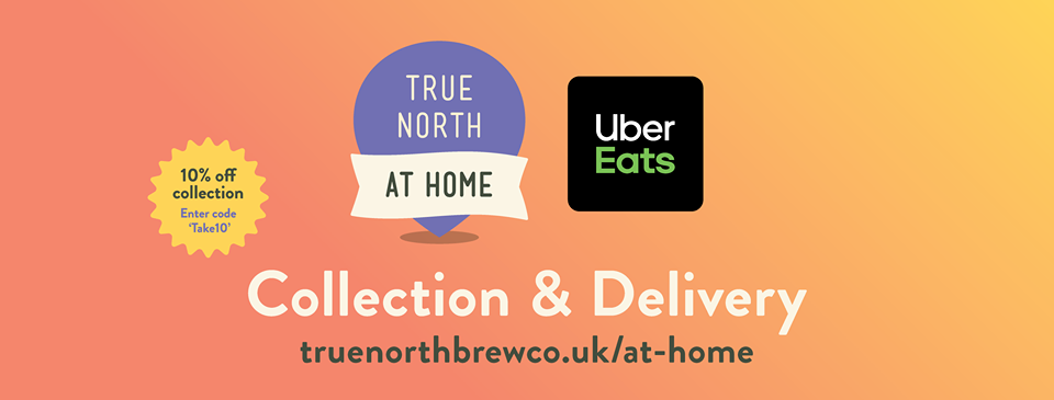 True North at Home with Uber Eats