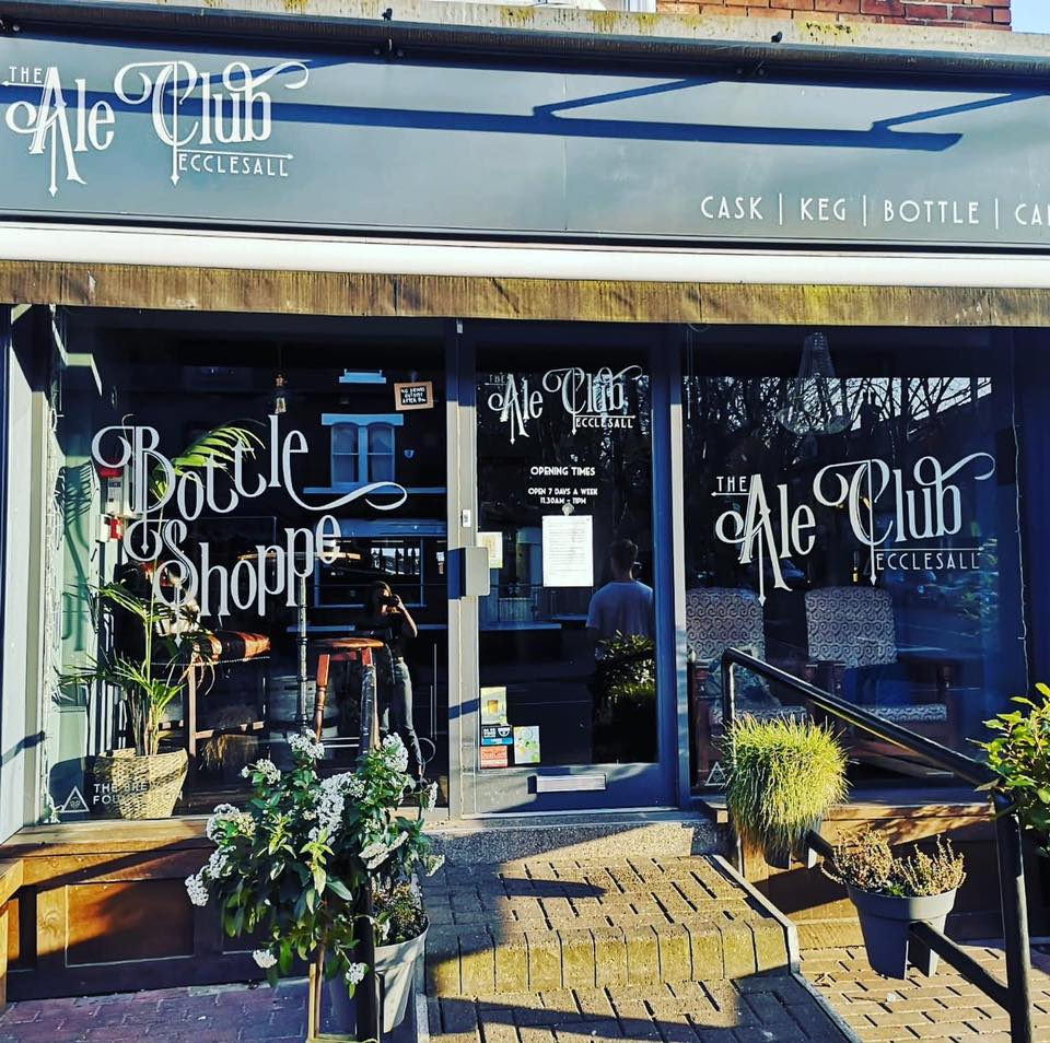 Ecclesall Ale Club open for take outs tomorrow!