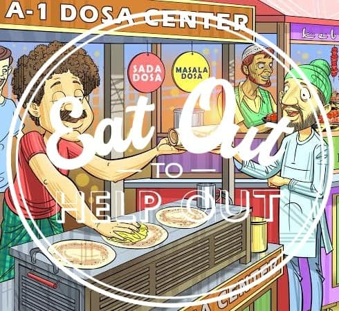 Eat Out To Help Out with a bang at Urban Choola