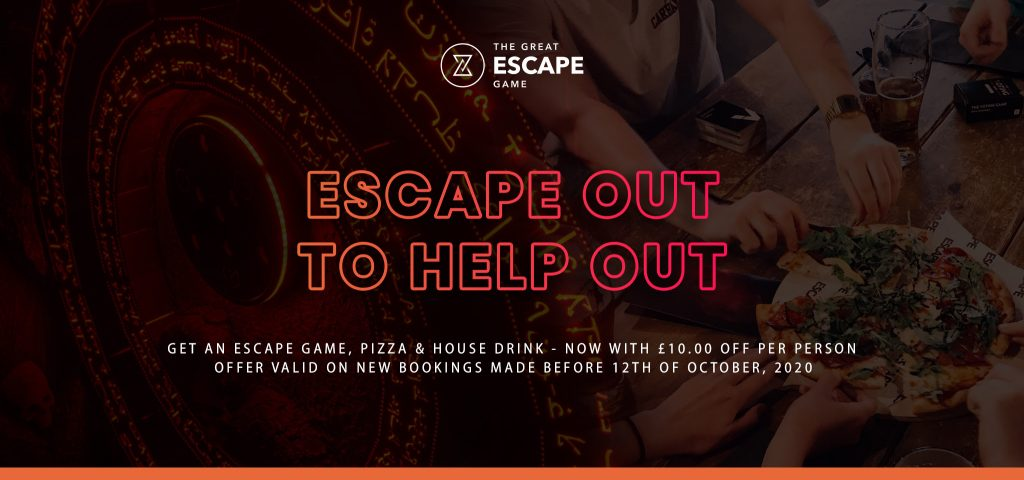 Escape Out To Help Out