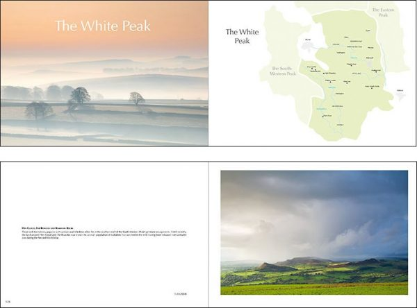 Peak District book page samples ThisisSheffield