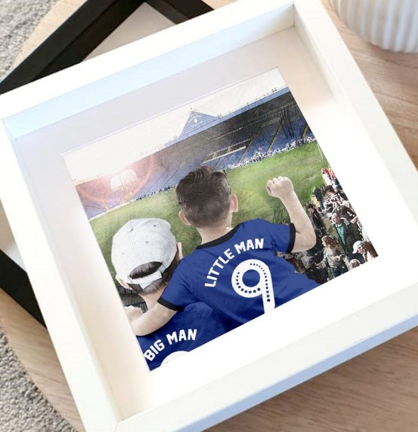 SHEFFIELD WEDNESDAY PERSONALISED PRINT 2 scaled
