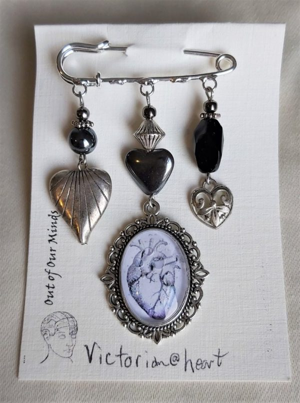 Victorian heart scaled