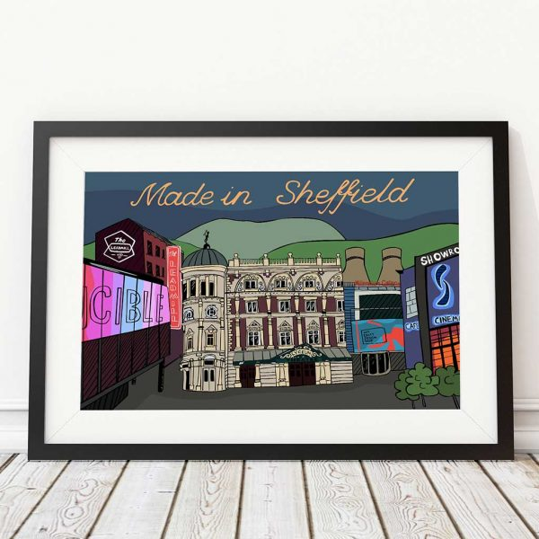 Made in Sheffield Print