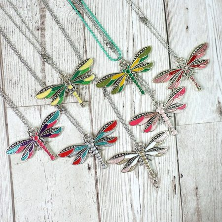 Silver Dragonflies Collection