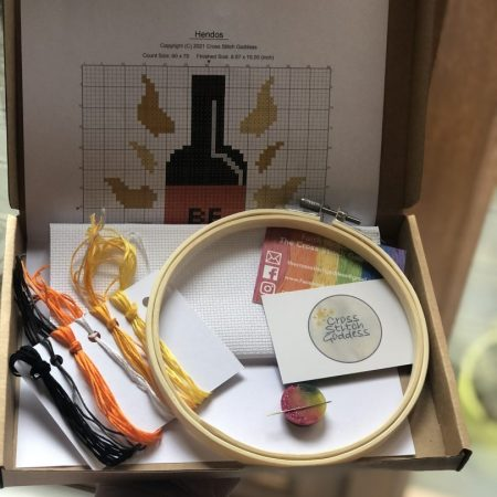 Cross Stitch Kit by Cross Stitch Godess