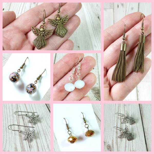 charm earrings tis