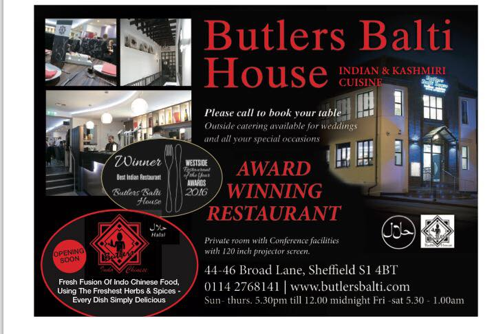 Butlers Balti House