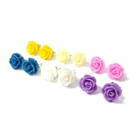 Rose Studs Multipic
