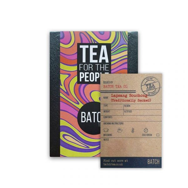 Batch Tea Co Traditionally Smoked Lapsang Souchong packet