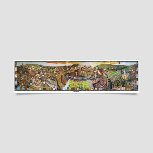Joe Scarborough Signed Art Print Sheffield Through the Ages